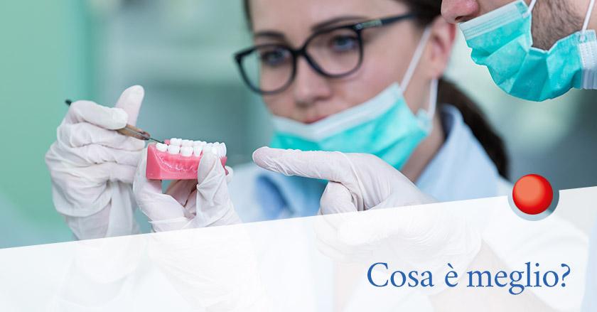 Quanti tipi di protesi dentali ci sono? Quale scegliere?